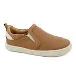 Slip On Masculino Saulo - Capuccino/ Off White