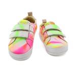 Tênis Infantil Unissex - Tie-Dye Neon