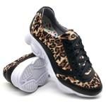 Tenis Dad Sneaker Chunky Feminina Bm Brasil 251/02 OnÇa-preto