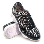 Tenis Dad Sneaker Chunky Feminina Bm Brasil 251/05 Zebra