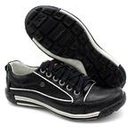 Sapato Masculino Casual Porshe Amura 114/02 Preto