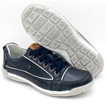 Sapato Masculino Casual Porshe Amura 114/03 Azul