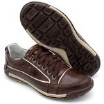 Sapato Masculino Casual Porshe Amura 114/04 Marron