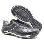 Sapato Masculino Casual Ortopédico Porshe Alanta 132/01 Preto