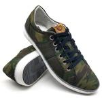 Sapato Masculino Casual Bmbrasil 850/19 Camuflado