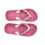 Chinelo Feminino Confortável - CH06 Rosa /Resina Dourada Rosa