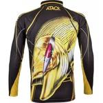 Camiseta De Pesca Proteção Solar Uv King Kff202