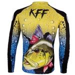 Camiseta De Pesca Proteção Solar UV King KFF60