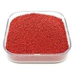Caviar De Vidro Cor Vermelho.