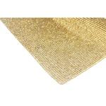 Manta De Strass Dourada - 2mm.