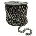 Corrente Monet - Pedra Black Diamond, Banho Grafite.