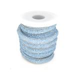 Cordão Infinity - Candy Opal Azul Bebê.