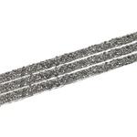 Tira de Strass Black Diamond - Rivoli 3,5x40cm.
