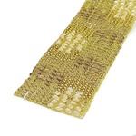 Tira De Strass Dourado - Rocker, 40x4cm.