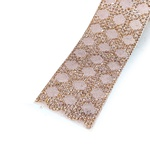 Tira de Strass Light Peach - Velvet, 40x3,5cm.