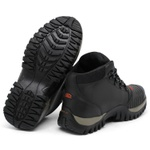 Bota Bell Boots Adventure/Motoqueiro 2027 - Preto/Vermelho