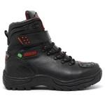 Bota Bell Boots Adventure/Motoqueiro 2030 - Preto/Vermelho