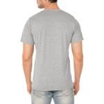 Camiseta Masculina Lisa 100% Algodão - Cinza Mescla