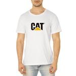 Camiseta Masculina Personalizada 100% Algodão - Branca