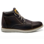 Bota Fox Up - Café Liso
