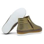Tênis Orcade Flat Form - Bronze