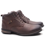 Bota Casual Compass Nobuck Oil Brown