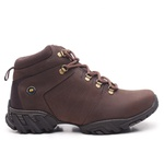 Bota Adventure Logan Couro Nobuck Oil Brown