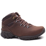 Bota Adventure Ranger Couro Nobuck Oil Brown