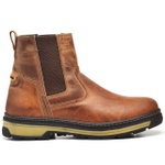 Bota Farmer - Whisky + Camiseta Cinza