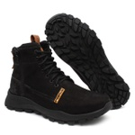 Bota Zip Trail 3022 - Preto + Chinelo