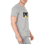 Bota Zip One - Café + Camiseta Cinza