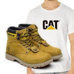Bota Second Shift Milho + Camiseta Branca