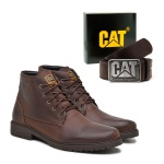 Bota Officer - Café - Cinto