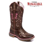 Bota Texana Feminina Mangalarga Abilene