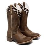 Bota Texana Feminina Mangalarga Jaguar
