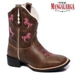 Bota Texana Feminina Mangalarga Horse Pink