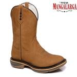 Bota Texana Masculina Comfort Fóssil Bico Redondo