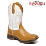 Bota Texana Masculina Mangalarga Amarillo
