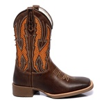 Bota Texana Masculina Mangalarga McAllen Orange