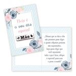 Cartão Mãe Hoje é Seu Dia