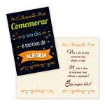 Cartão Comemorar o seu dia
