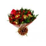 Buquê de Rosas de Ferrero Rocher