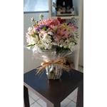 Mix Flores Mistas no Vaso