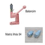 Kit 2 Balancim 100 Cardenas (ROSA) + matriz ilhós 54
