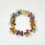Prendedor pequeno de Patch borboleta (com 10 unidades)