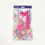 Tesoura de costura soft 8,5 polegadas com amolador - Pink