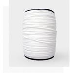 Elástico roliço 3,5mm (rolo de 50mts) - Branco