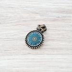 Cursor Mandala azul - Ouro Velho