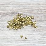 Rebite simples n° 0,5 - Dourado