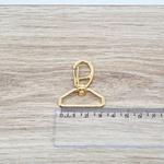 Mosquetão 30mm - Dourado